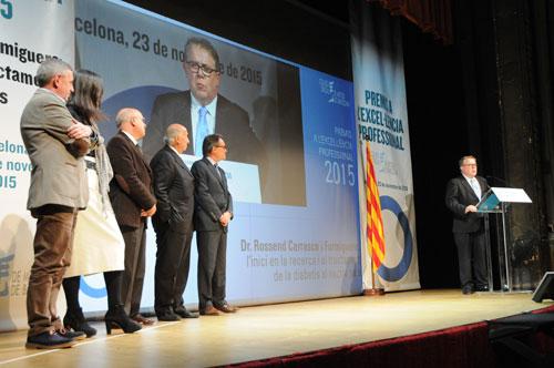 El president del COMB reclama a Artur Mas més recursos per al sistema sanitari i el seu suport per impulsar canvis organitzatius en les institucions sanitàries