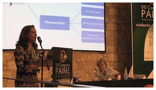 El Col·legi aporta 20 anys d'experiència amb el PAIMM al VII Congrés estatal PAIME