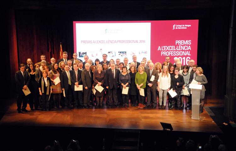 Premis a l'Excel·lència Professional 2016