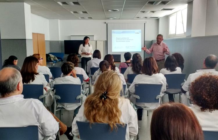 El Col·legi s'apropa als centres de treball amb sessions sobre temes professionals i de praxi