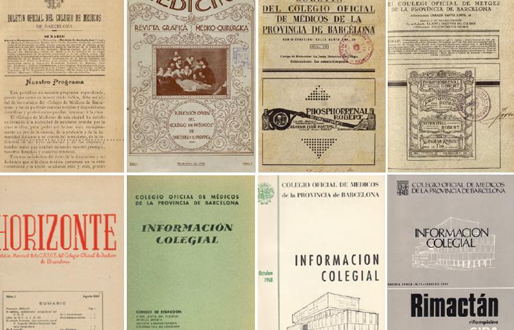 Cent vint anys de publicacions  d'informació col·legial (1897-2017)