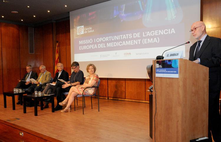 El futur de l'Agència Europea  <span class='nostrong'>del Medicament</span>