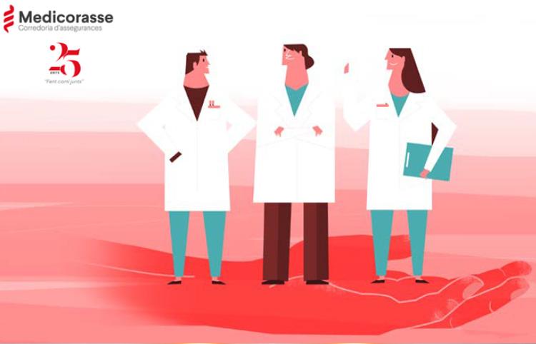 Medicorasse celebra els seus 25 anys  creixent en nombre de clients i pòlisses