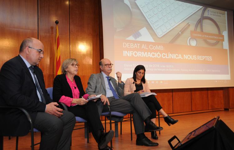 El pacient com a portador  de la seva informació clínica