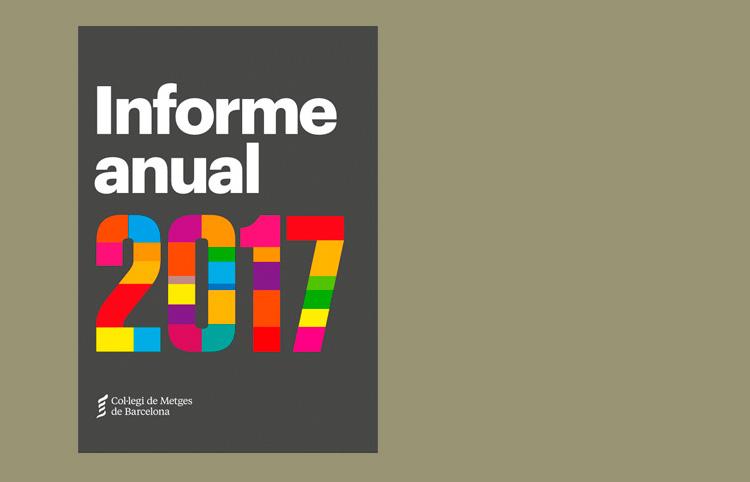 El Col·legi edita l'Informe Anual 2017