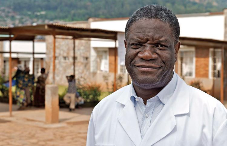 Nobel de la Pau 2018 per al metge congolès Denis Mukwege