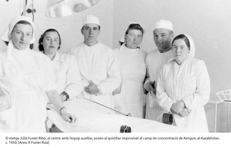 Metges exiliats després  de la Guerra Civil
