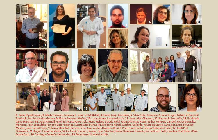 Metges premiats per les juntes comarcals durant el 2018