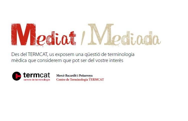 Es pot fer servir l'adjectiu mediat/mediada?