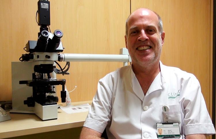 """Josep Lluís Bedini, <span class=""""nostrong"""">Cap del Laboratori Core de l'Hospital Clínic</span>"""