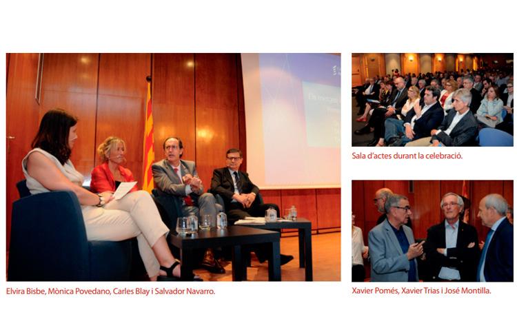 El catedràtic Borja de Riquer  destaca el compromís cívic  i la implicació social dels metges