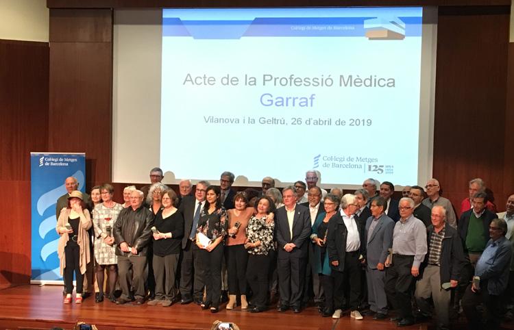 Acte de la professió mèdica  de la comarca Garraf
