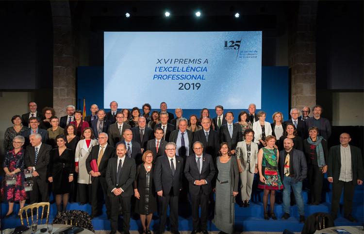 Homenatge a la professió mèdica en la celebració dels 125 anys del Col·legi de Metges de Barcelona