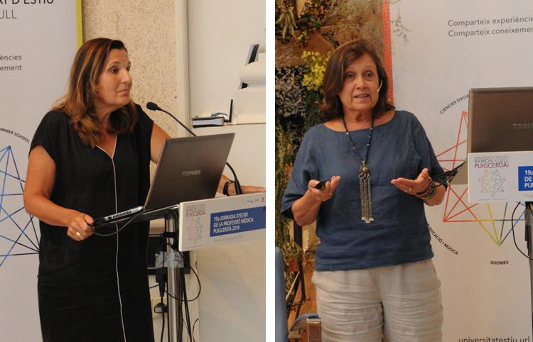 Montserrat Garcia i Rosa Dinarès
