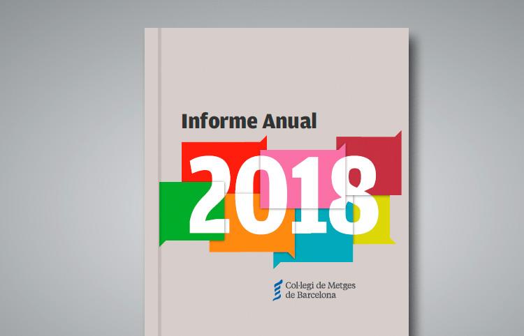 El Col·legi edita  l'Informe Anual 2018